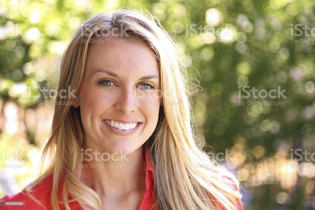 Natural Light Portrait stock photo