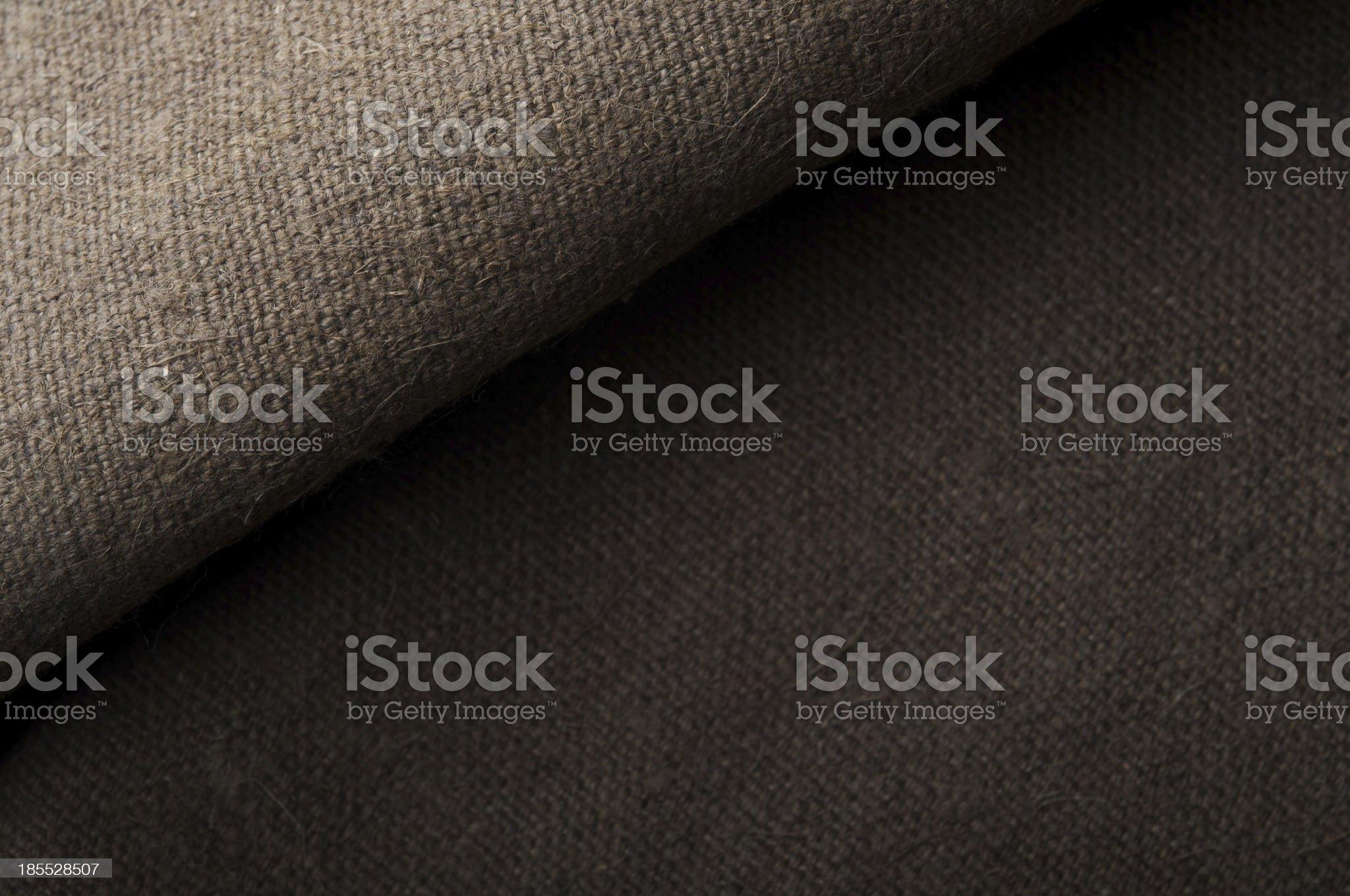natural linen texture royalty-free stock photo