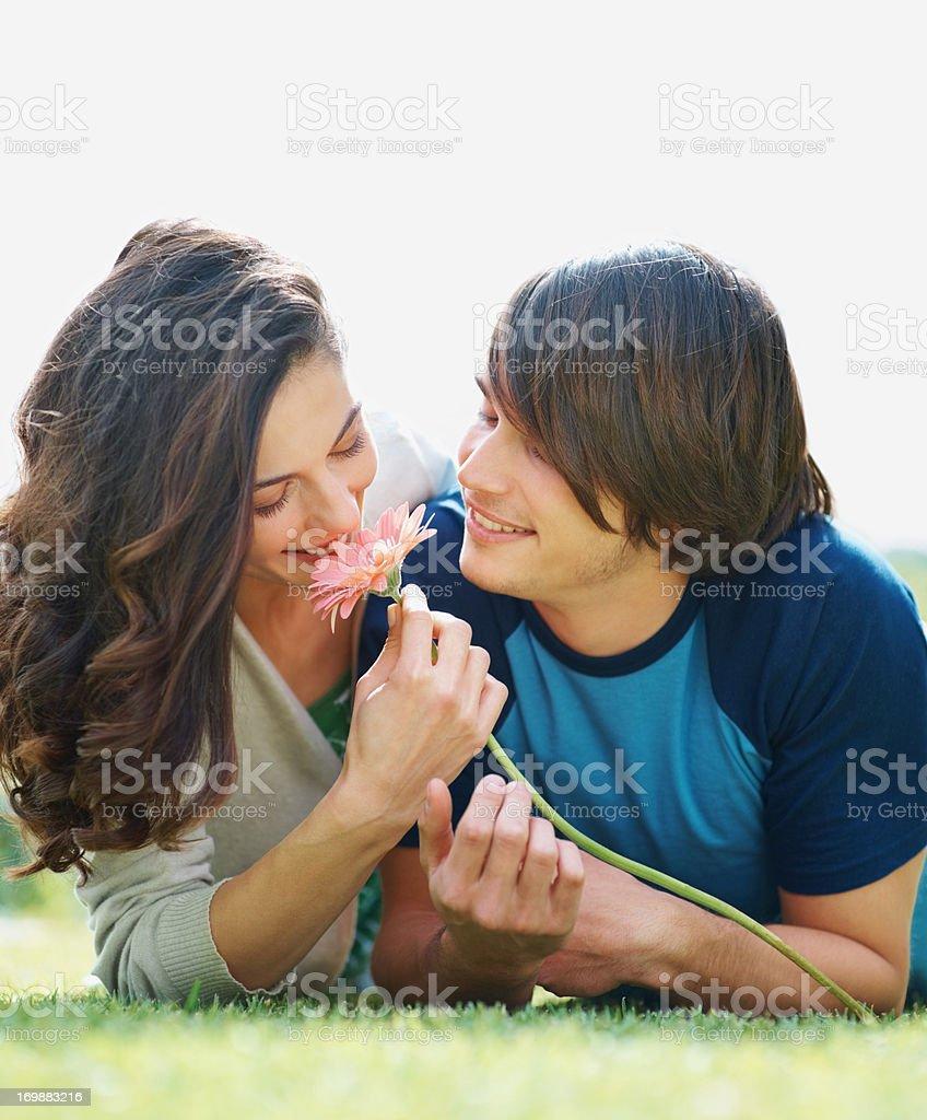 Natural love stock photo