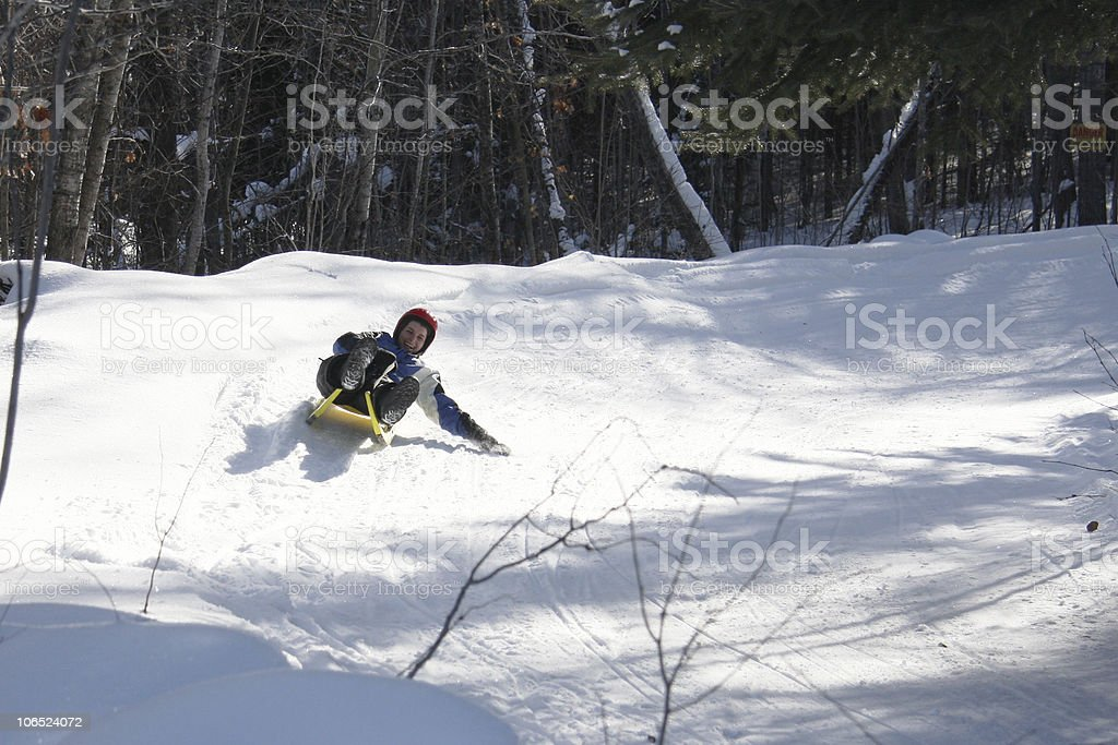 Natural Luge stock photo