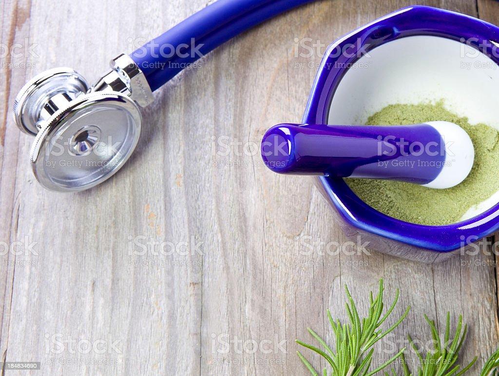 Natural Medicine royalty-free stock photo