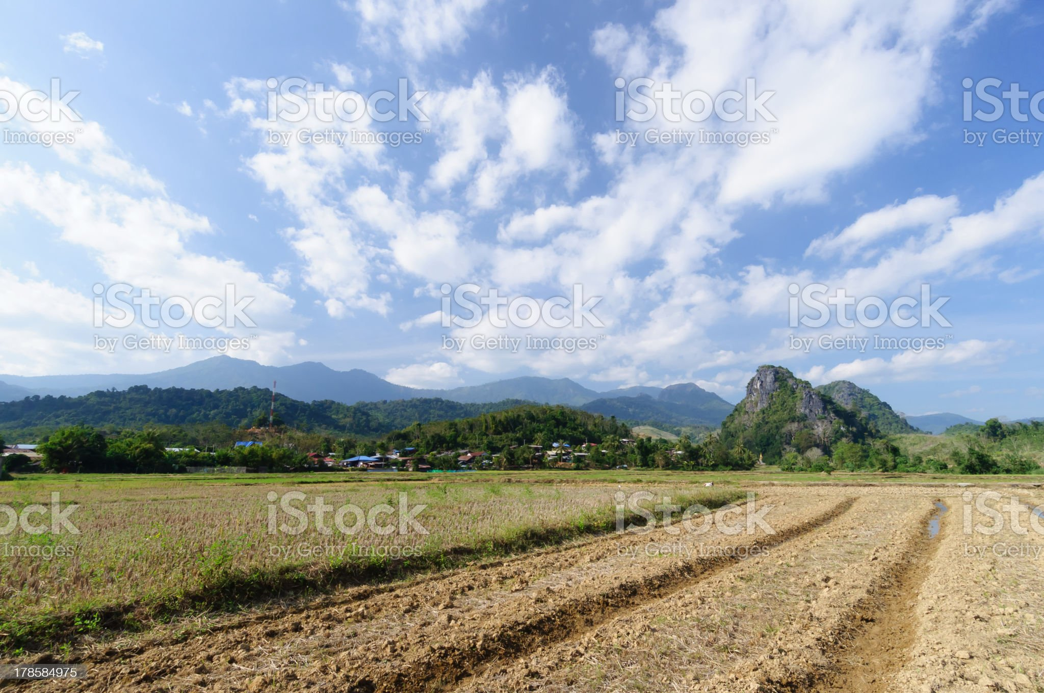 Natural mountain  landscape royalty-free stock photo