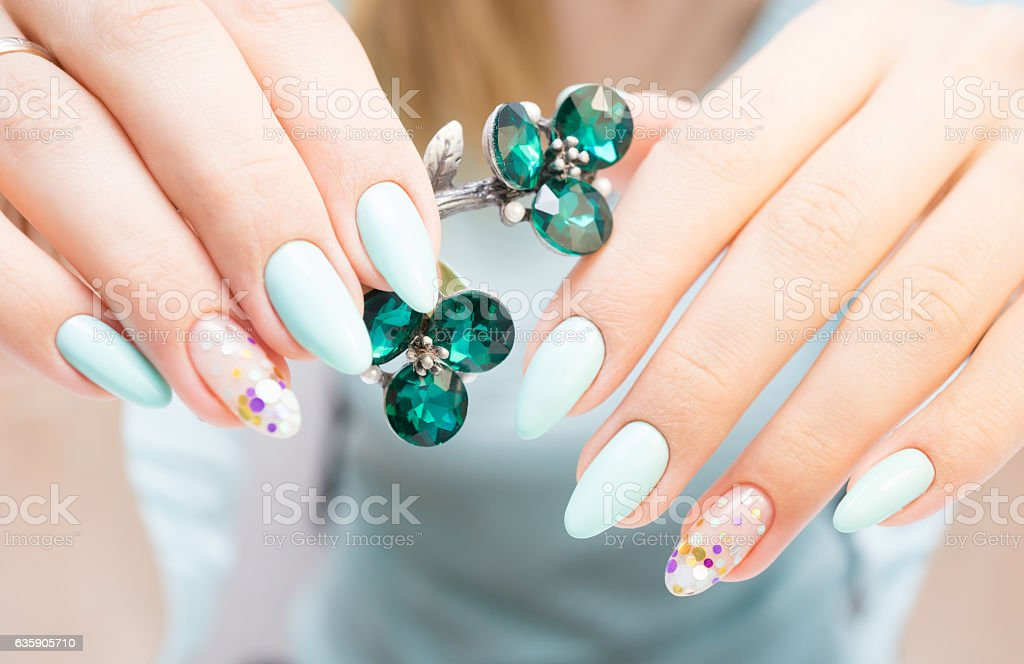 Natural nails, gel polish. Perfect clean manicure with zero cuticle....