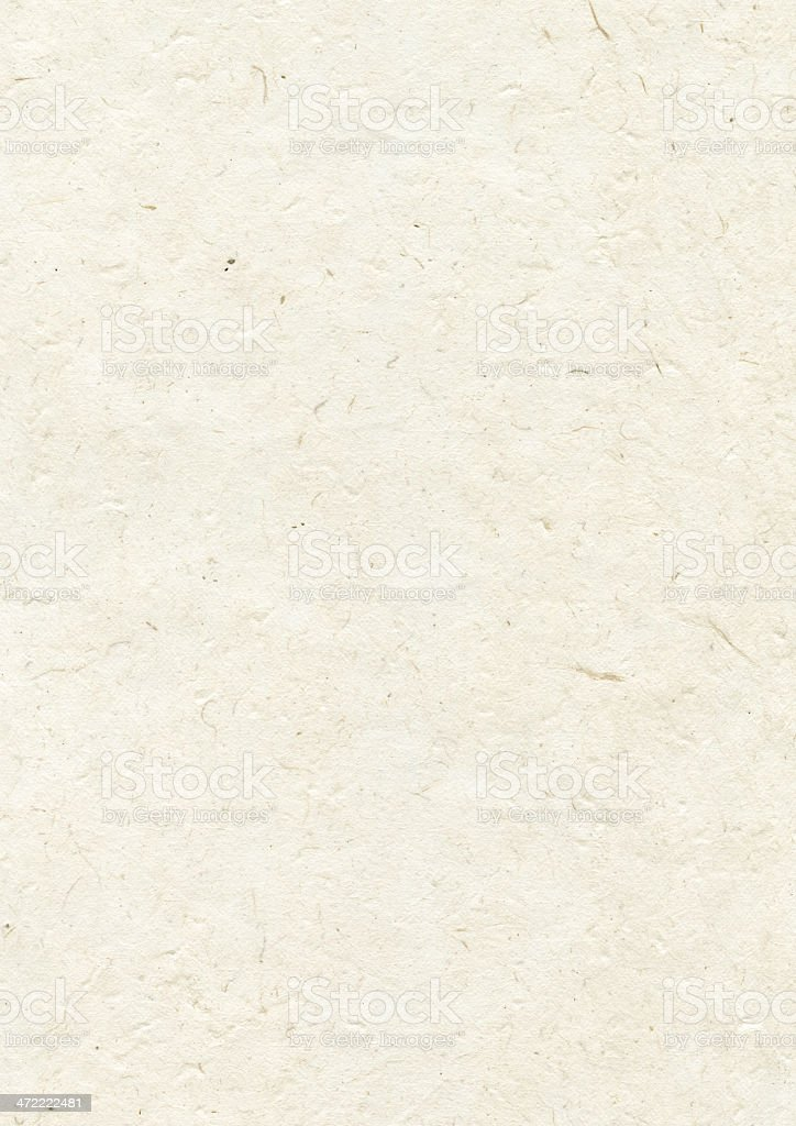 Natural nepalese recycled paper texture stock photo