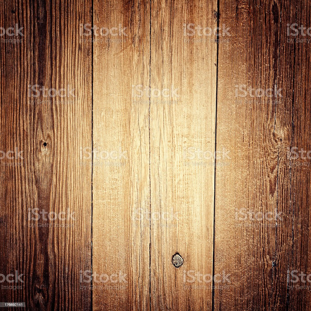 Natural old wooden background stock photo