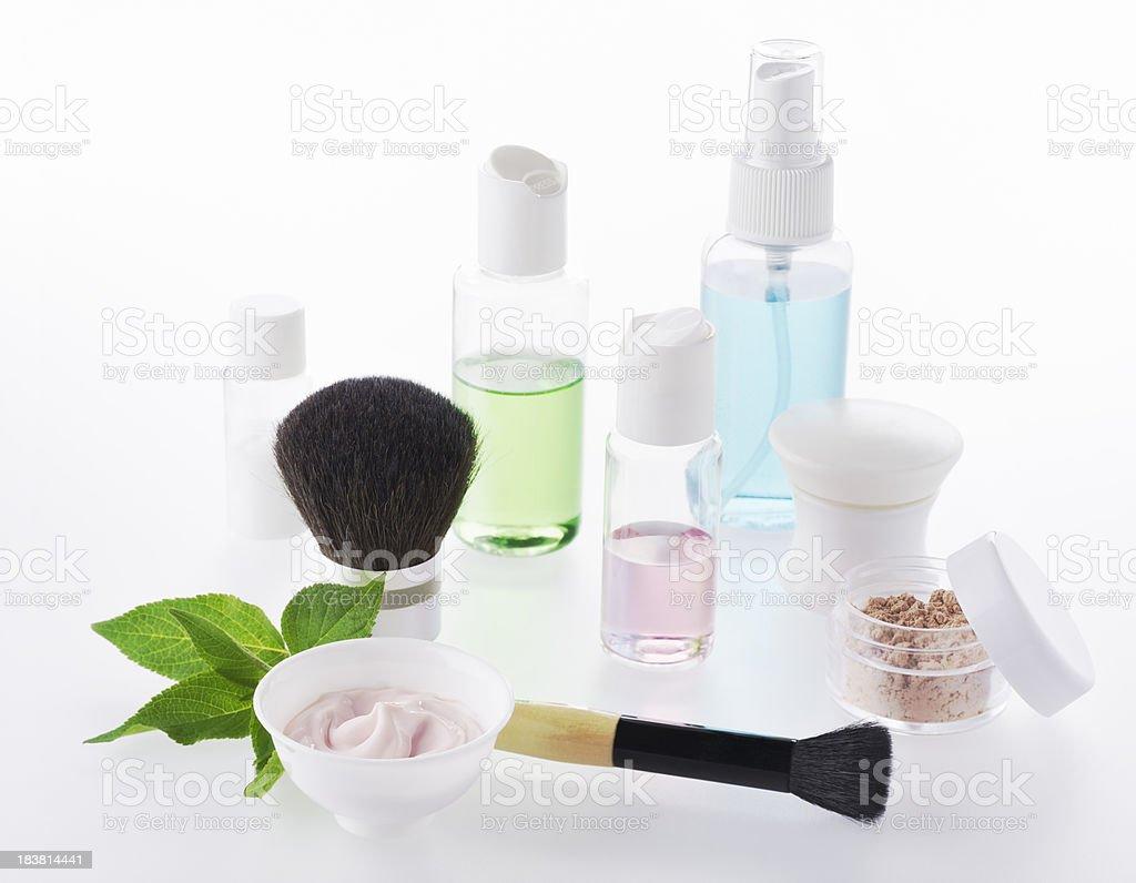 Natural Organic Cosmetics - XXXL stock photo