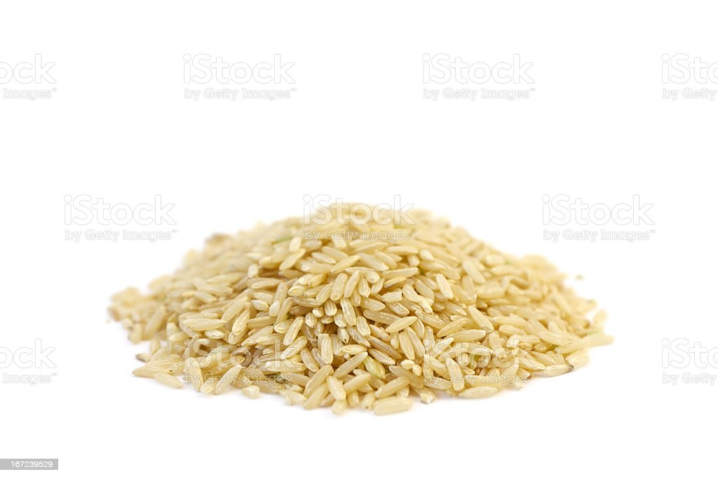 Natural Organic Rice stock photo