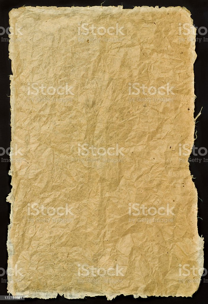 Natural paper stock photo