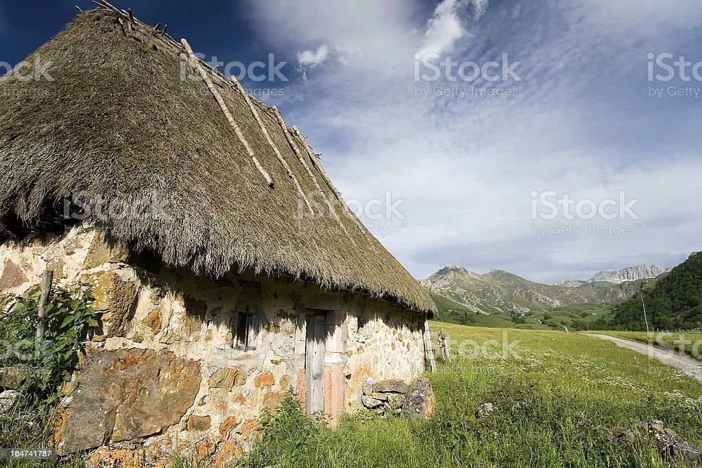 Natural park of Somiedo, Asturias royalty-free stock photo