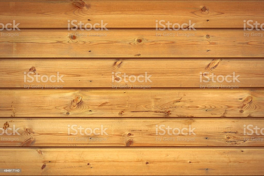 Natural Pattern Of Grain On pine Boards stock photo