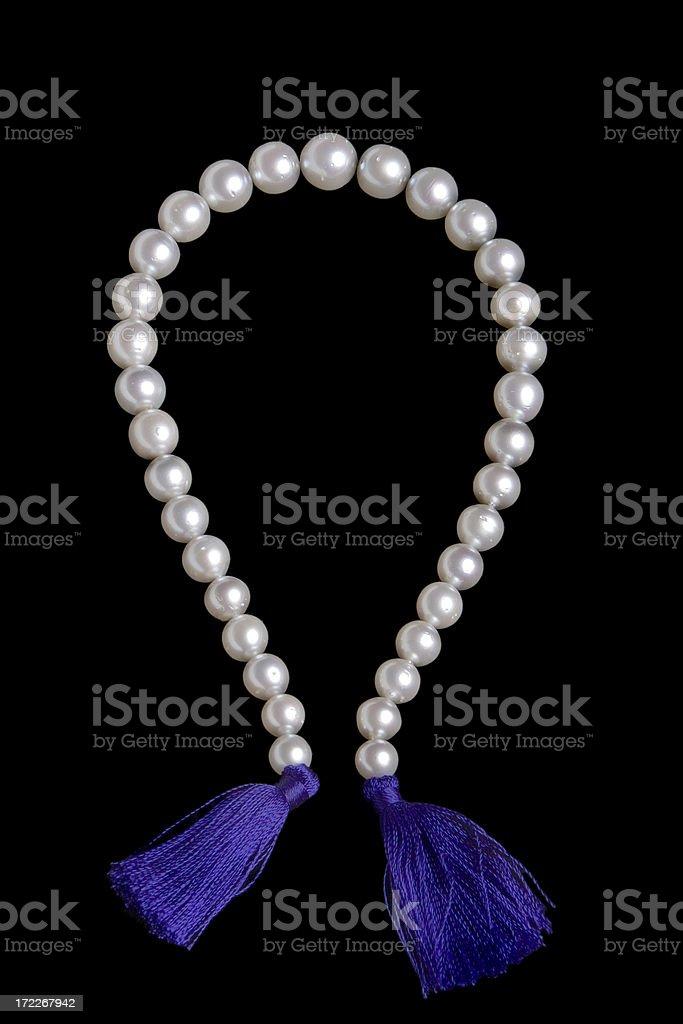 Natural Pearls royalty-free stock photo