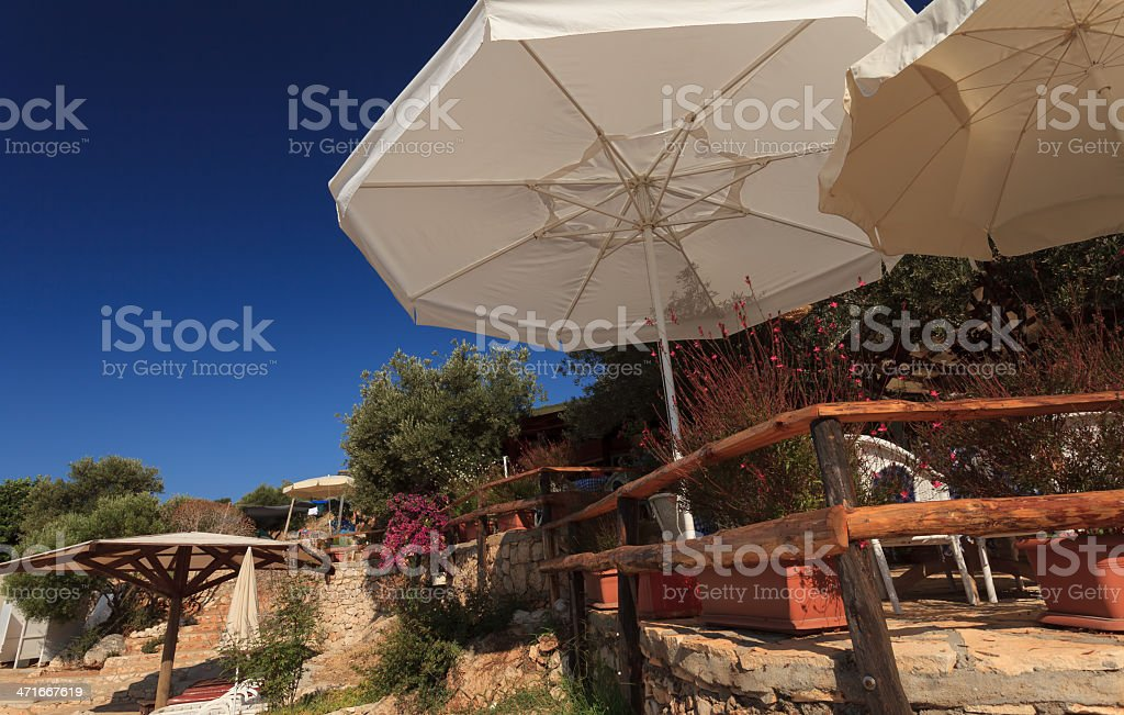 Natural place for holiday stock photo