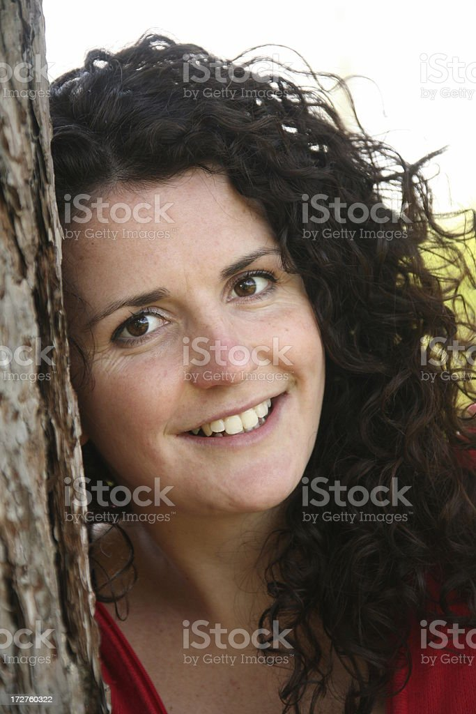 natural Portrait royalty-free stock photo