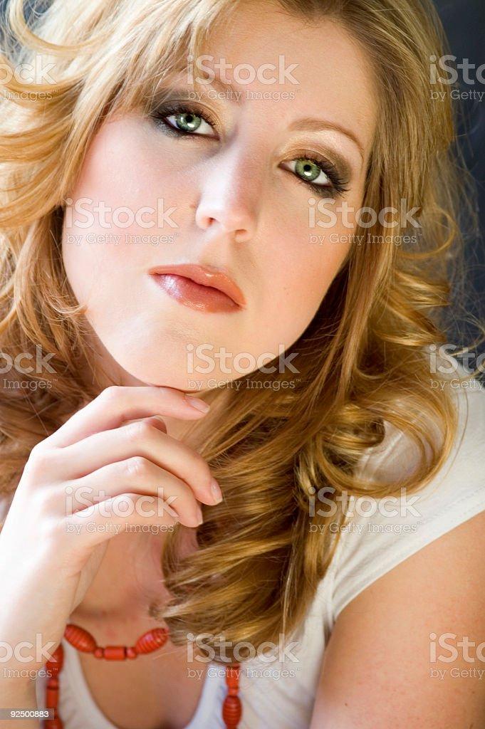 Natural Portrait stock photo