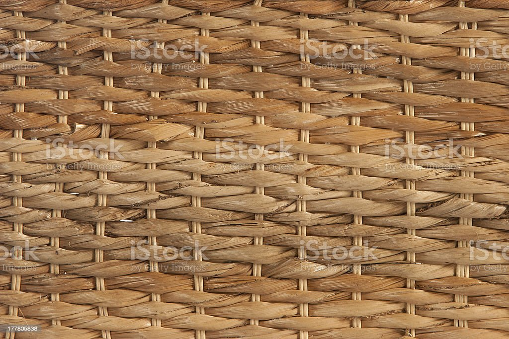 Natural rattan background royalty-free stock photo