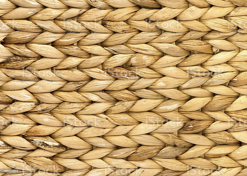 Natural rattan weave texture background royalty-free stock photo