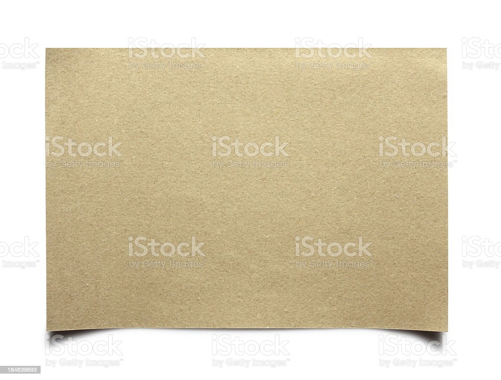 Natural recycled paper royalty-free stock photo