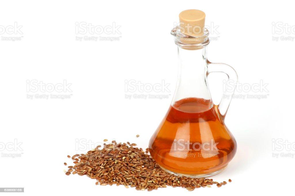 Natural red rice vinegar stock photo