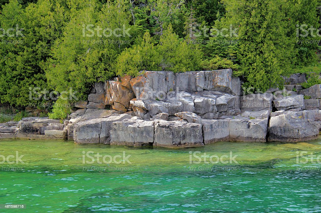 Natural Rock Formations stock photo