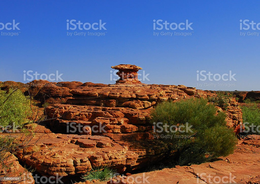 Natural rock sculpture royalty-free stock photo