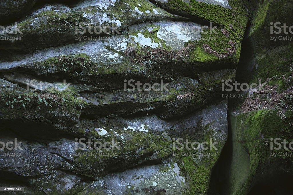 Natural rock surface royalty-free stock photo