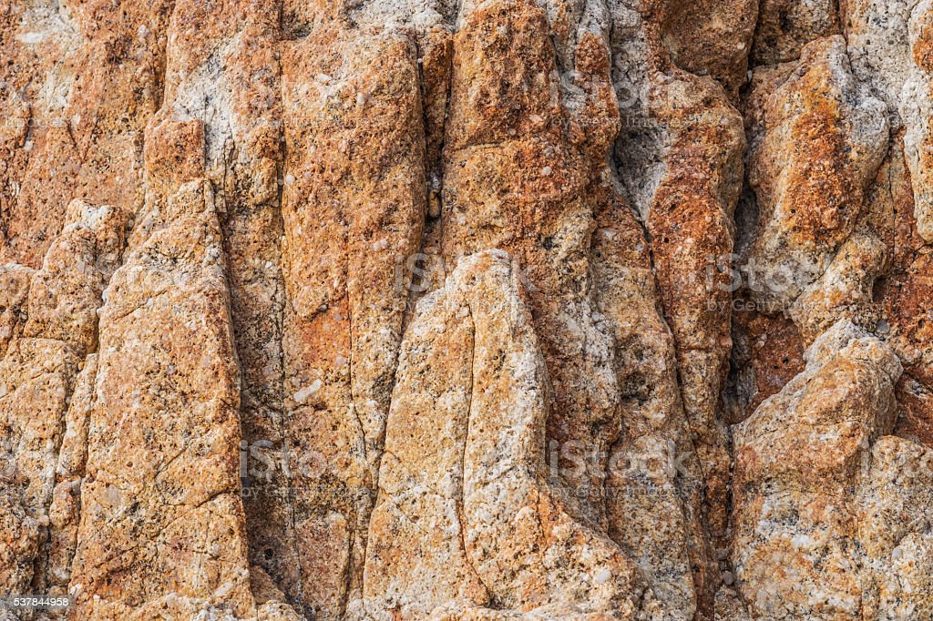 Natural rock surface texture stock photo