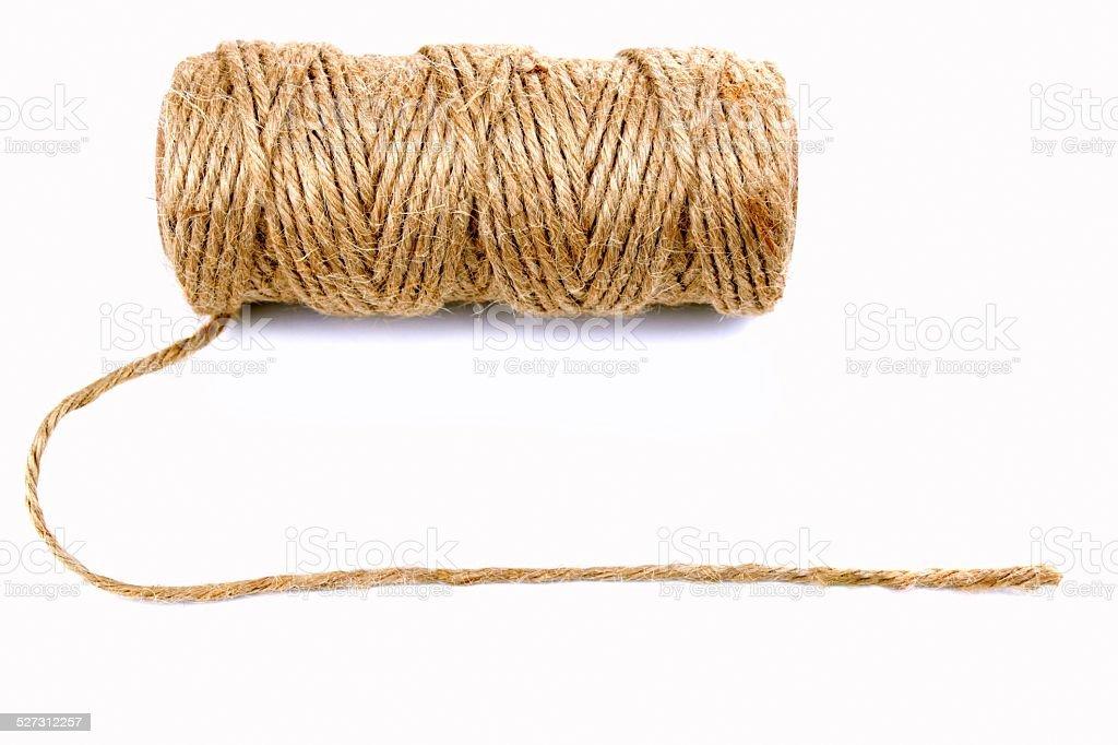 Natural rope stock photo