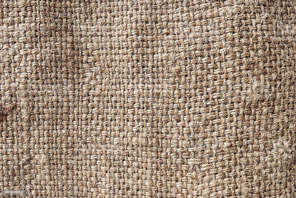 Natural sackcloth, Fabric Jute Texture Pattern Closeup, textured stock photo