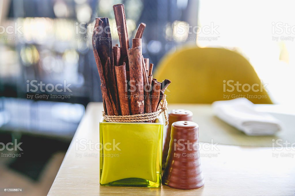 Natural sandalwood stock photo
