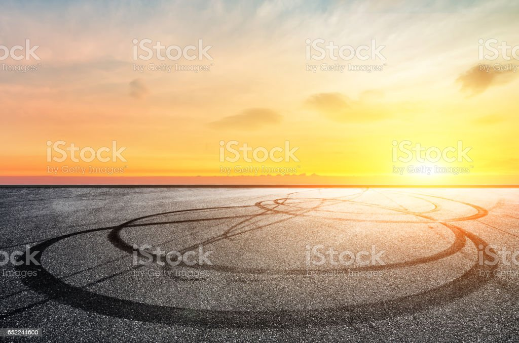 Natural scenery Road stock photo