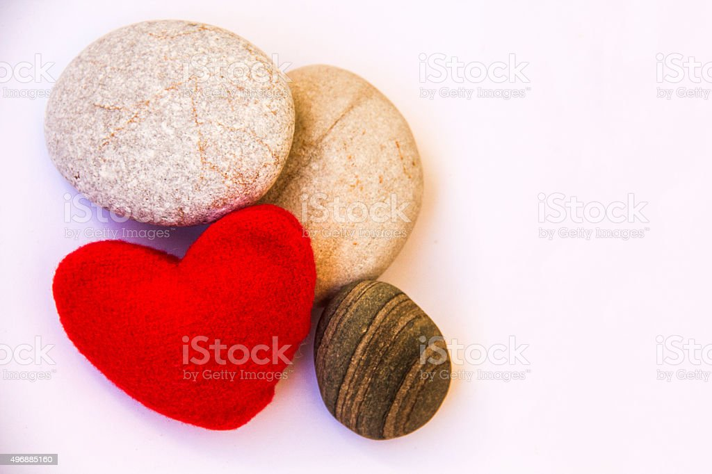 Natural semi-precious stones. stock photo
