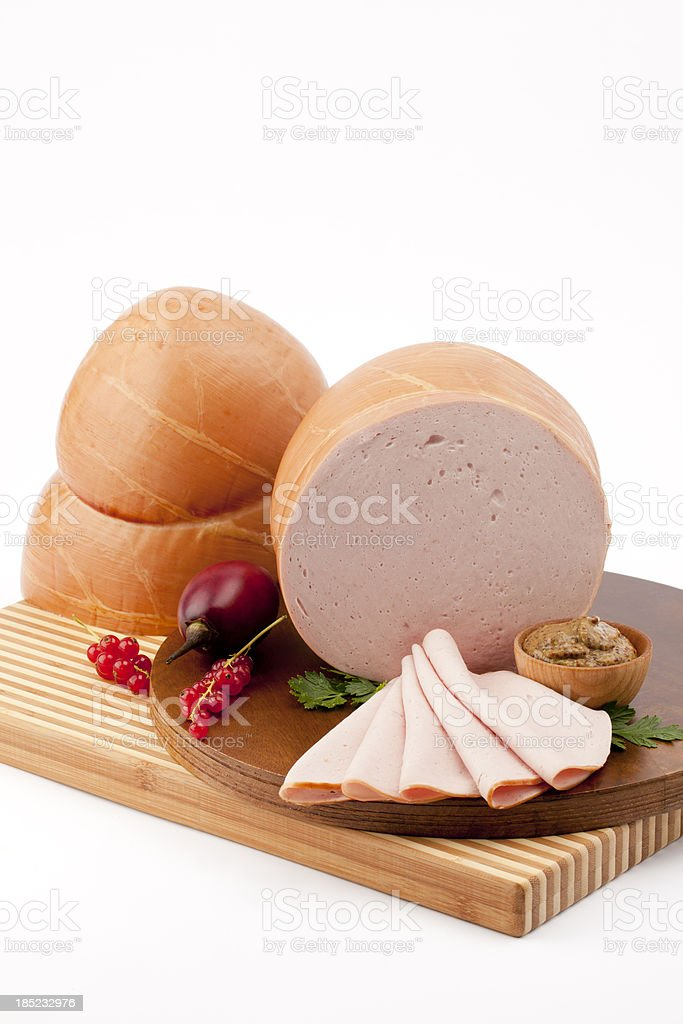 Natural Skin Bologna stock photo