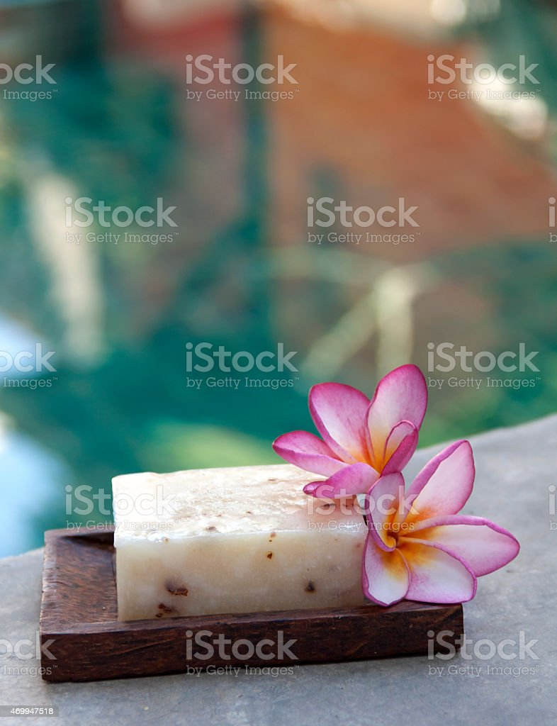 Natural soap royalty-free stock photo