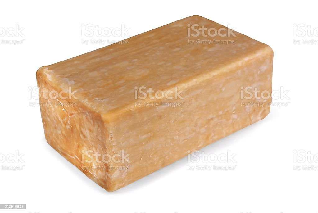 Natural soap stock photo