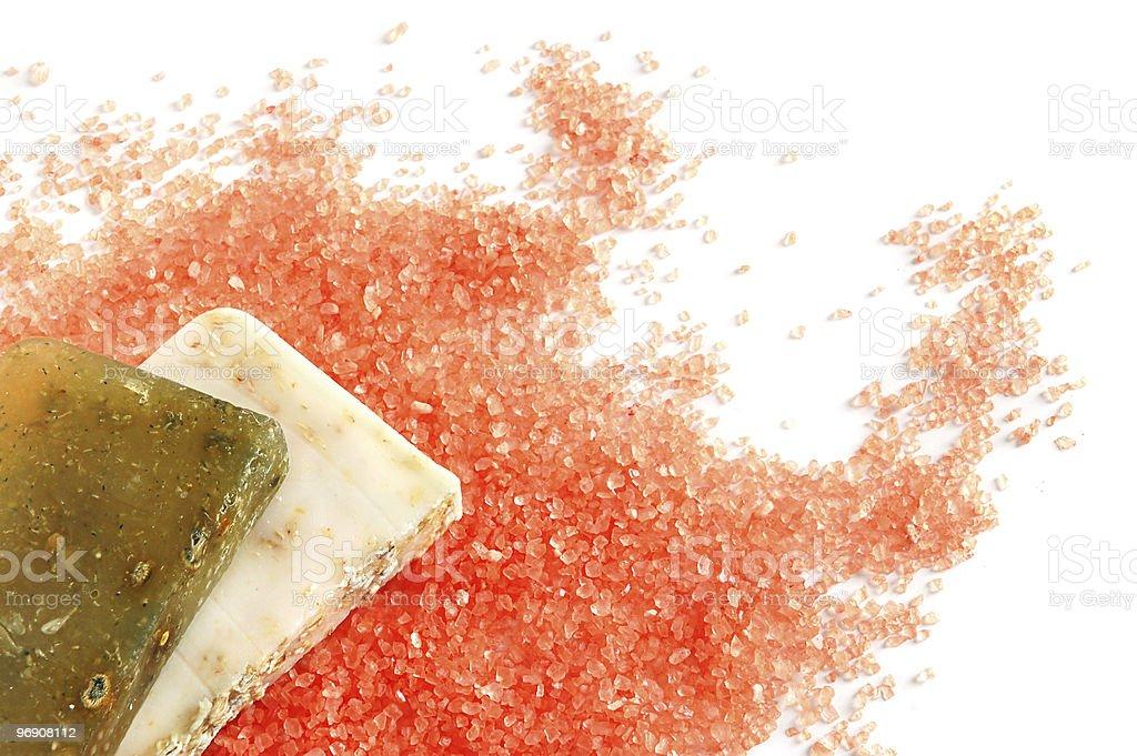 Natural soaps royalty-free stock photo