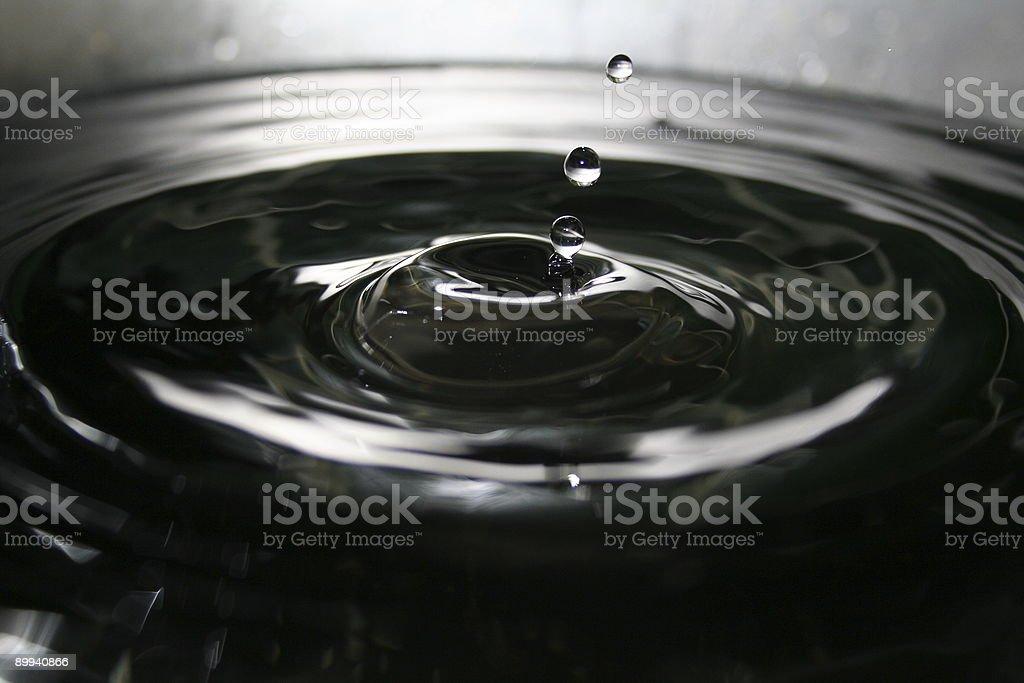 Natural Splash stock photo