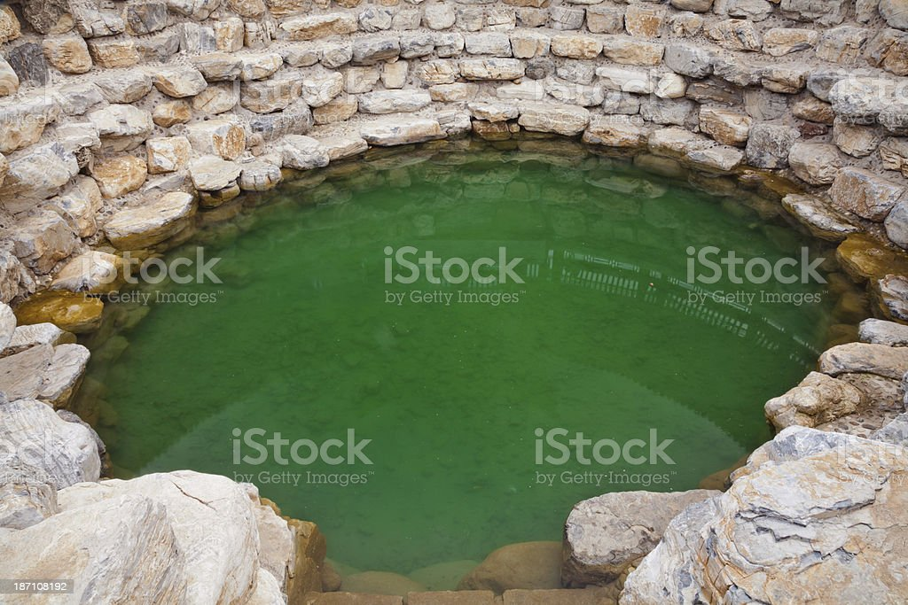 Natural springs royalty-free stock photo