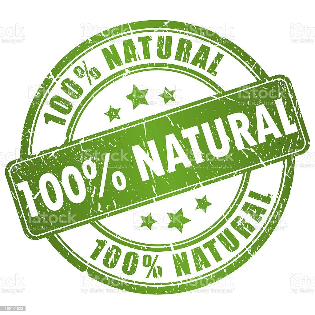 Natural stamp royalty-free stock photo