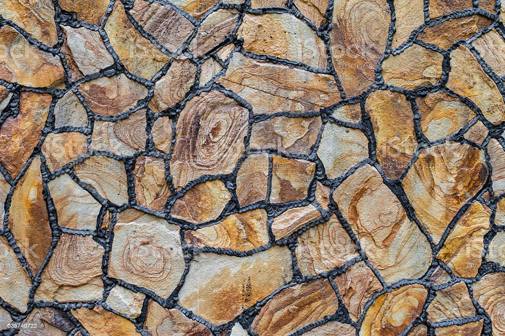 Natural stone for construction stock photo