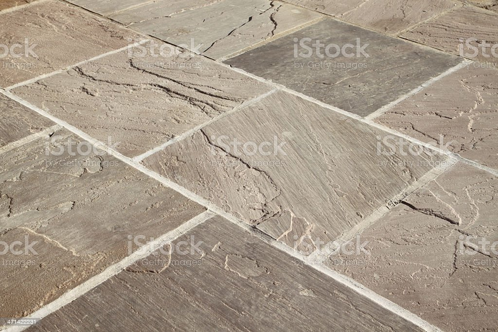 Natural Stone Paving stock photo