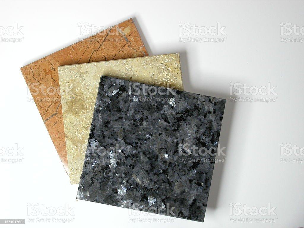 Natural Stone Tiles royalty-free stock photo