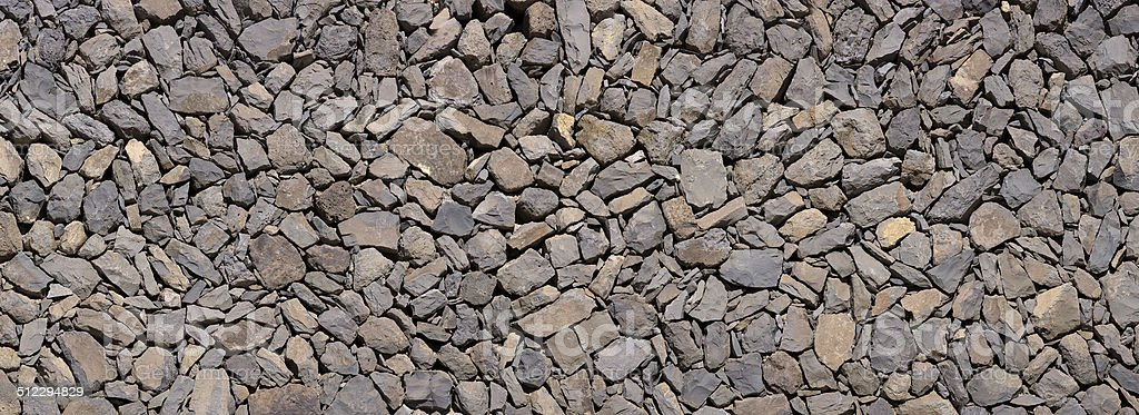 Natural stone wall royalty-free stock photo