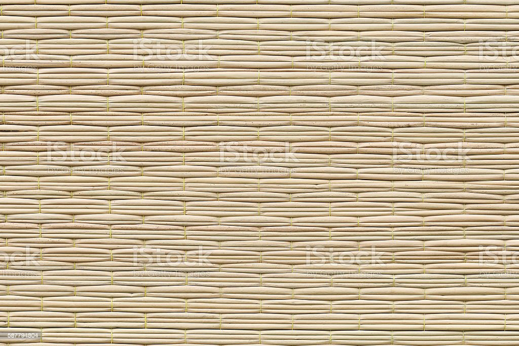 natural straw for pattern and background stock photo