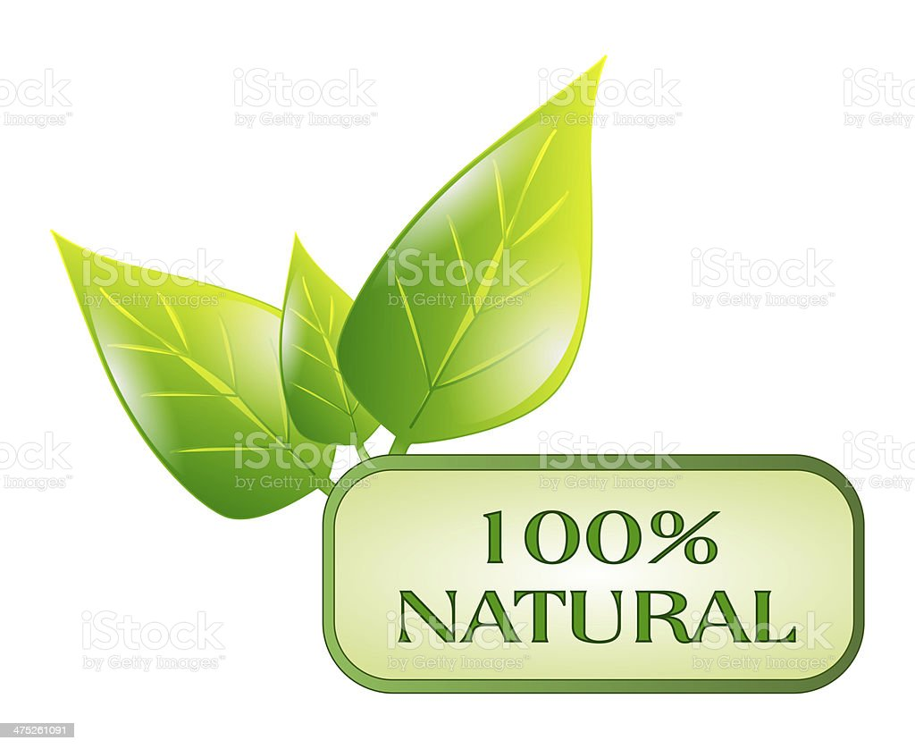 natural symbol isolated royalty-free stock photo