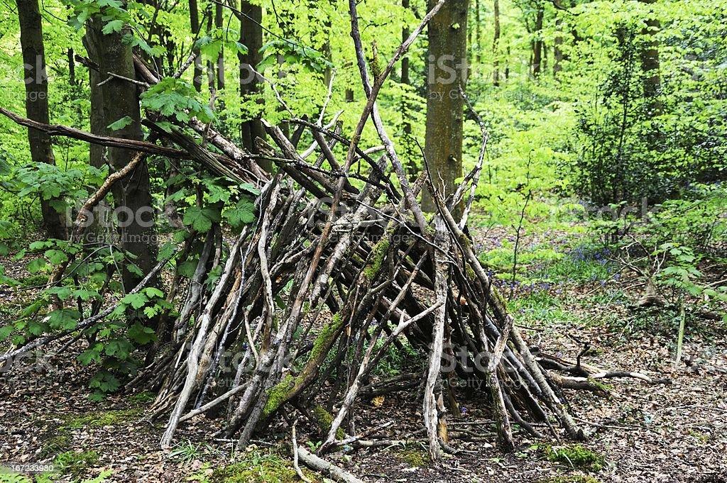 Natural Tent royalty-free stock photo