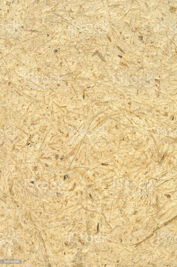 Natural Texture of Egyptian Papyrus royalty-free stock photo