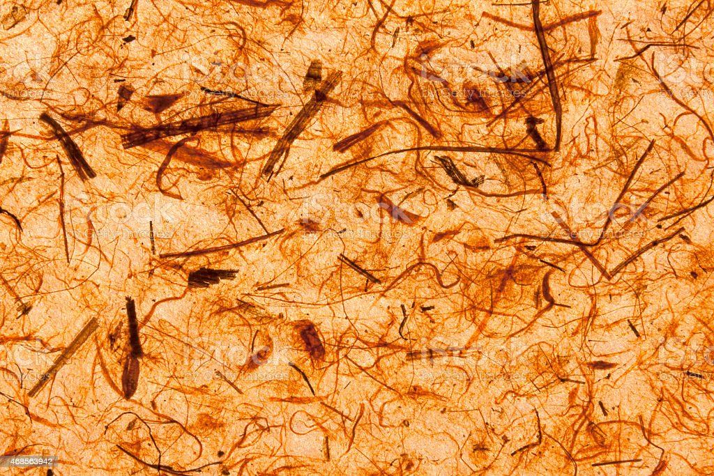 Natural texture orange paper royalty-free stock photo