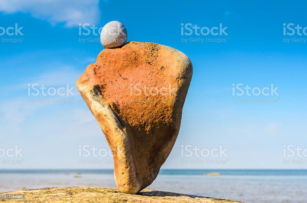 Natural texture stone stock photo