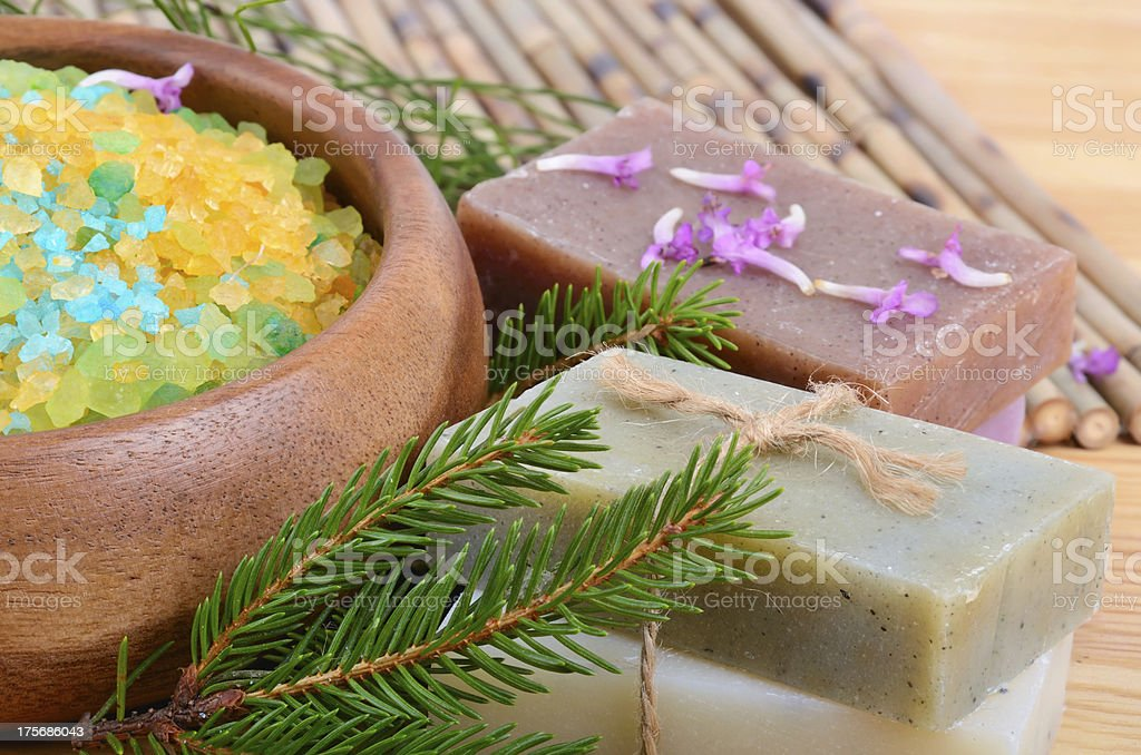 Natural treatment for spa royalty-free stock photo