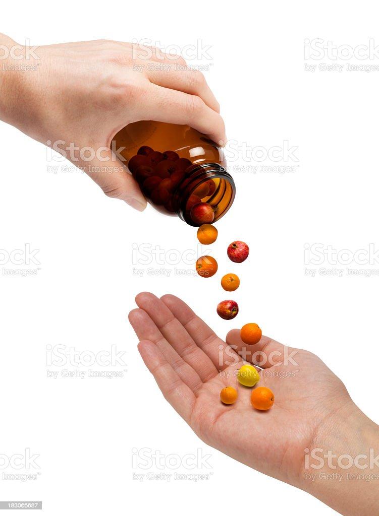 Natural Vitamin C royalty-free stock photo